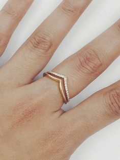 Hey, I found this really awesome Etsy listing at https://www.etsy.com/listing/490391841/herringbone-diamond-ring-14k-solid-gold
