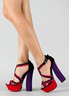 Colorful heels!