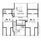 Plan 10785 - 638 sq ft Second Level