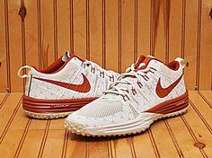 free shipping b6aa8 48f65 2014 Nike Lunar TR1 NRG Texas Longhorns Size 11 -Desert Orange White-  654283 801