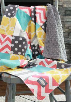 Baby Blanket Modern Baby Quilt