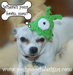 Posh Pooch Designs Dog Clothes: Brain Slugs!