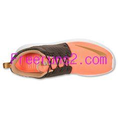 huge selection of 1dcdb 0e4b5 50% off Cheap Nike Running Shoes,Nike Roshe Run FB Mens Orange Brown 580573