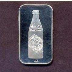 Coca-Cola Nashville 1oz Silver Art Bar 75th anniversary Silver Investing, Silver Bars, Coca Cola, Nashville, Anniversary, Art, Art Background, Coke, Kunst