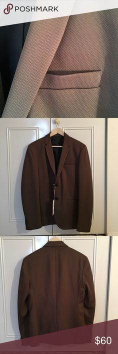 Zara Brown Fitted Blazer Zara blazer from Zara daily ware Collection Zara Suits & Blazers Suits