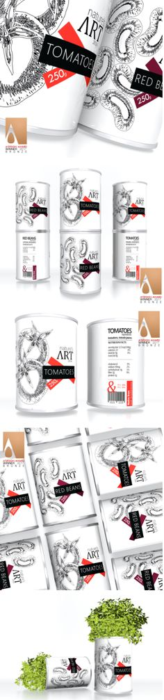 Nature's Art Packaging by CreativeByDefiniton Label Design, Package Design, Graphic Design, Black White Red, Packaging, Branding, Logos, Nature, Inspiration