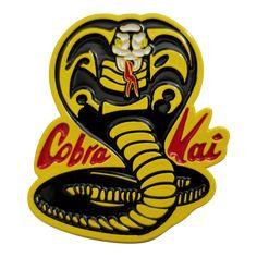 The Karate Kid Cobra Kai Logo Enamel Pin - Available Quarter 2019 Karate Kid Movie, Karate Kid Cobra Kai, Kids Stickers, Custom Stickers, Funny Stickers, Foto Pop Art, Cobra Kai Dojo, Desenhos Harry Potter, King Cobra