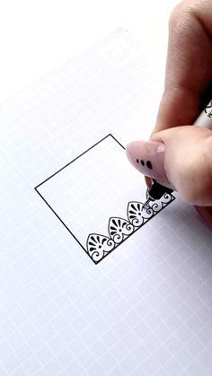 Mandala Pattern, Zentangle Patterns, Zentangles, Pattern Art, Mandala Art Lesson, Mandala Artwork, Doodle Art Drawing, Mandala Drawing, Dibujos Zentangle Art
