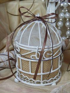 Στρογγυλο κλουβι με λινατσα