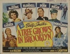 A Tree Grows in Brooklyn (1945): An excellent movie based on an excellent novel.