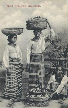 Fruit sellers. Colombo, Ceylon Sri Lanka. Pinterest @sweetness