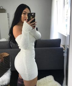99 Cute Sexy Dress For Women Fall Outfits is part of Clothes Fall Cute - Many women go upset at the sight of their men staring at other women This usually happens when a couple […] Look Fashion, Autumn Fashion, Fashion Outfits, Fashion Trends, 50 Fashion, Female Fashion, Fashion Styles, Latest Fashion For Women, Womens Fashion