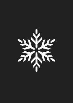 飛行機×雪の結晶