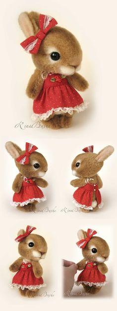 【rinabears】Карамелька ♥ Felt Wool Doll