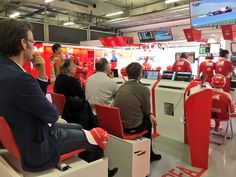Scuderia Ferrari garage #ChineseGP #redseason