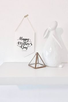 Mother's Day Keepsake Typography Wall Hanger by cherishwithlove on Etsy
