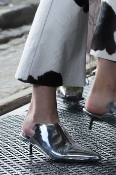 Marques' Almeida - I don't typically like mules, BUT...