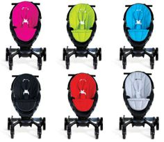 4moms Origami Pushchair – £929. A celebrity favourite, this is a power folding stroller as well as a cell phone-charging, mileage-counting, LCD-sporting stroller, with generators in the rear wheels that charge it as you walk. Plus, the Origami has daytime running lights, pathway lights for low-light conditions, and sensors that detect when a child's in the seat. http://www.cruxbaby.co.uk/shop/4-moms-origami/4moms-origami-pushchair-silver-frame-2/