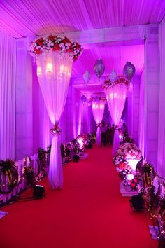 Weddings Discover Golden Jubilee Anniversary Celebration - The Art of Weddings Pictures Wedding Hall Decorations, Wedding Reception Backdrop, Tent Decorations, Wedding Venues, Wedding Gate, Wedding Entrance, Gate Decoration, Entrance Decor, Wedding Planners In Mumbai