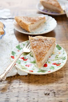 Sugar Cream Pie  –  Annie's Eats