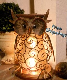 Hey, I found this really awesome Etsy listing at http://www.etsy.com/listing/100681702/wise-and-wired-owl-lamp-night-light-home