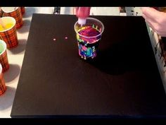 #22 Awesomeness in a cup. Acrylic pour painting - YouTube