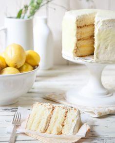 summer lemon cake #lemon #dessert