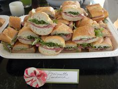 Everyday Delights: My bridal shower: food #bridalshower #weddingfood