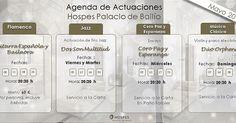 Agenda de Actuaciones #cordoba #musica #jazz #clasica #coro #flamenco