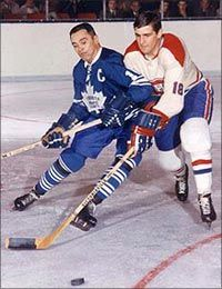 Legends of Hockey - Spotlight - One on One with George Armstrong Montreal Canadiens, George Armstrong, Maple Leafs Hockey, Usa Hockey, Tim Hortons, Sports Figures, Toronto Maple Leafs, Hockey Players, Nhl