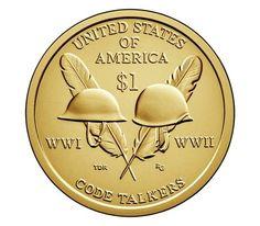 2016 P Sacagawea Native American Dollar Value American Dollar, American Coins, American Indians, Code Talker, Sacagawea Dollar, Rare Coins Worth Money, Valuable Coins, Coin Dealers, Coin Design