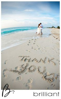 Beach thank you photo cards. For the best officiant for your Outer Banks ceremony, or anywhere in NC, contact Rev. Dawn Marsh Gallogly, officiant4you.com/