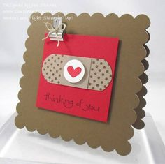 I am stuck on Band-Aids! by stamperjen0 - Cards and Paper Crafts at Splitcoaststampers