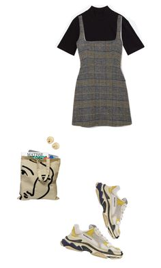 """organizing"" by zooitje-tuig ❤ liked on Polyvore featuring AlexaChung, Balenciaga and Agmes"
