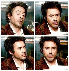 """Is it November??"" ""Yes, Holmes.""  (""Sherlock Holmes,"" Robert Downey Jr.)"