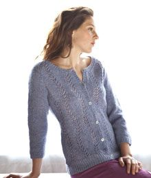 Lanata by Amy Christoffers  I wonder if this would convert to a pullover...hmmmm