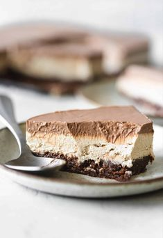 Dessert Drinks, Dessert Recipes, Desserts, Coffee Brownies, Latte Flavors, No Bake Pies, Round Cakes, Cheesecake Bars, Vegan Sweets