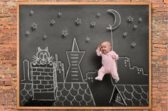 21 Creative Baby Photo Ideas via Brit + Co
