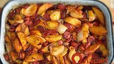 Pečené zemiaky na debrecínsky spôsob
