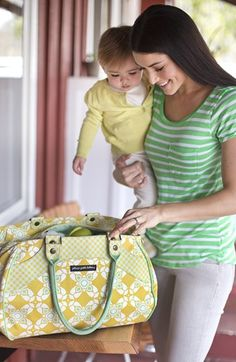 Pretty diaper bag http://rstyle.me/n/ndnu5nyg6