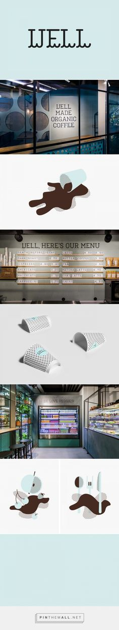 New Brand Identity for Well Coffee by Bond — BP&O... - a grouped images picture - Pin Them All