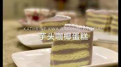 芋头咖椰蛋糕 Yam Layered Cake - YouTube Cake In A Can, Just Cakes, Jello Recipes, Baking Recipes, Yummy Recipes, Pepsi Cake, Delicious Fruit, Yummy Food, Pandan Layer Cake