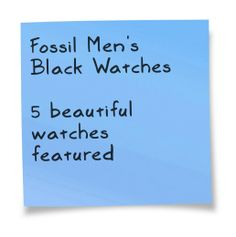 Fossil Watches For Men, Black Watches, Beautiful Watches, Fossil Watches Mens