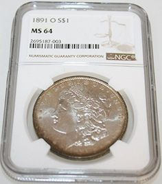 1891 O Morgan Dollar $1 MS-64 NGC *** Check this awesome product by going to the link at the image.