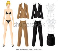 Paper Dolls Stockfotos und -bilder | Shutterstock