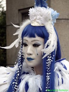 Cosplay of Mana from Malice Mizer on Harajuku