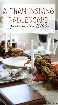 thanksgiving tablescape | Thanksgiving table ideas | thanksgiving home decor | thanksgiving table decor | thanksgiving decor on a budget | thanksgiving decor for cheap | thanksgiving | fall decor | fall home decor | fall tablescape | dining room
