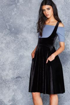 Show Us Ya Tops Velvet Midi Dress