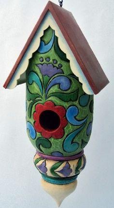 Jim Shore Pumpkin Birdhouse