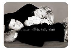 newborn photo shoot - family